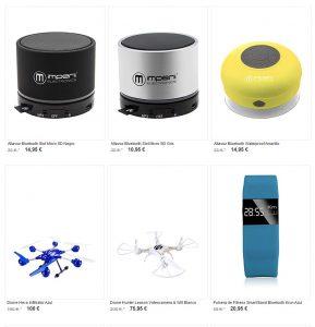 Ejemplo de ofertas de gadgets en Amazon BuyVip
