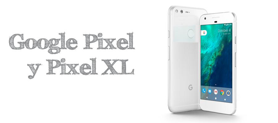 Google presenta Pixel y Pixel XL