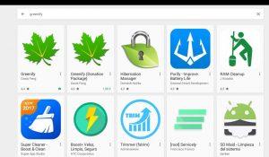 Greenify en la Play Store