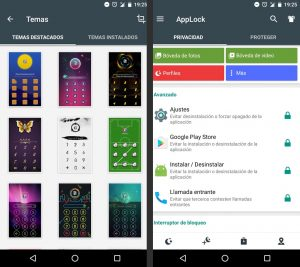 aplicaciones de Android. AppLocker