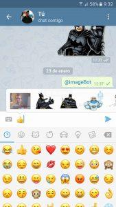 Cómo usar un sticker en Telegram (1/3)