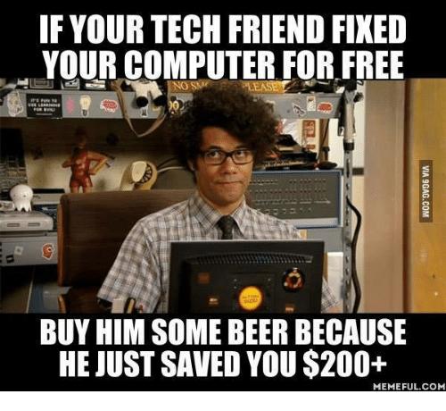 Acerca de Tecnología Mundana. Amigo informático